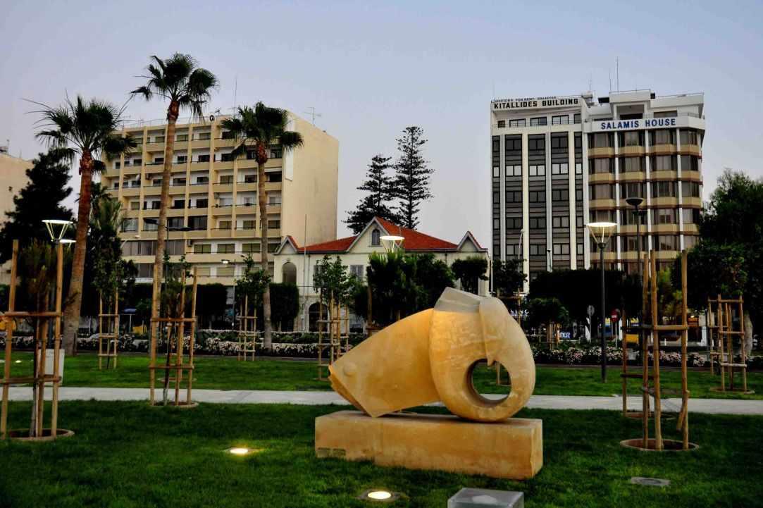 Sculpture Park in Limassol