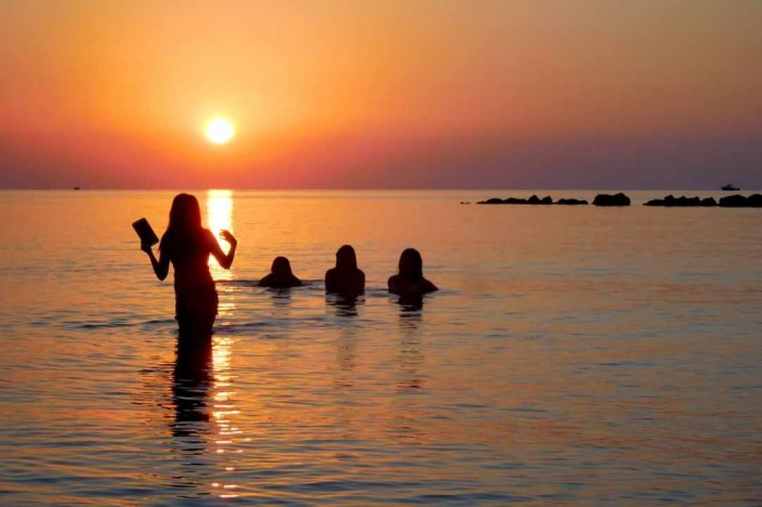 The Special Sunrise in Limassol