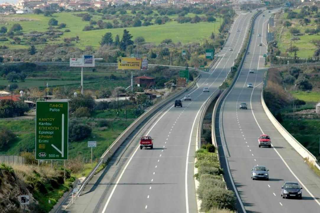 Highway A6: Limassol - Paphos