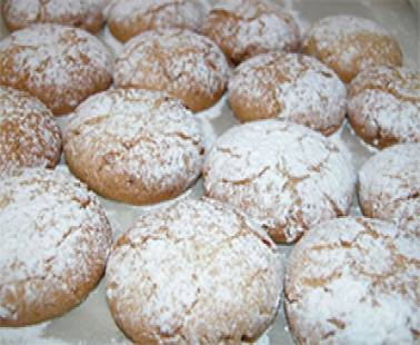 Kourabiedes (Traditional  recipe)
