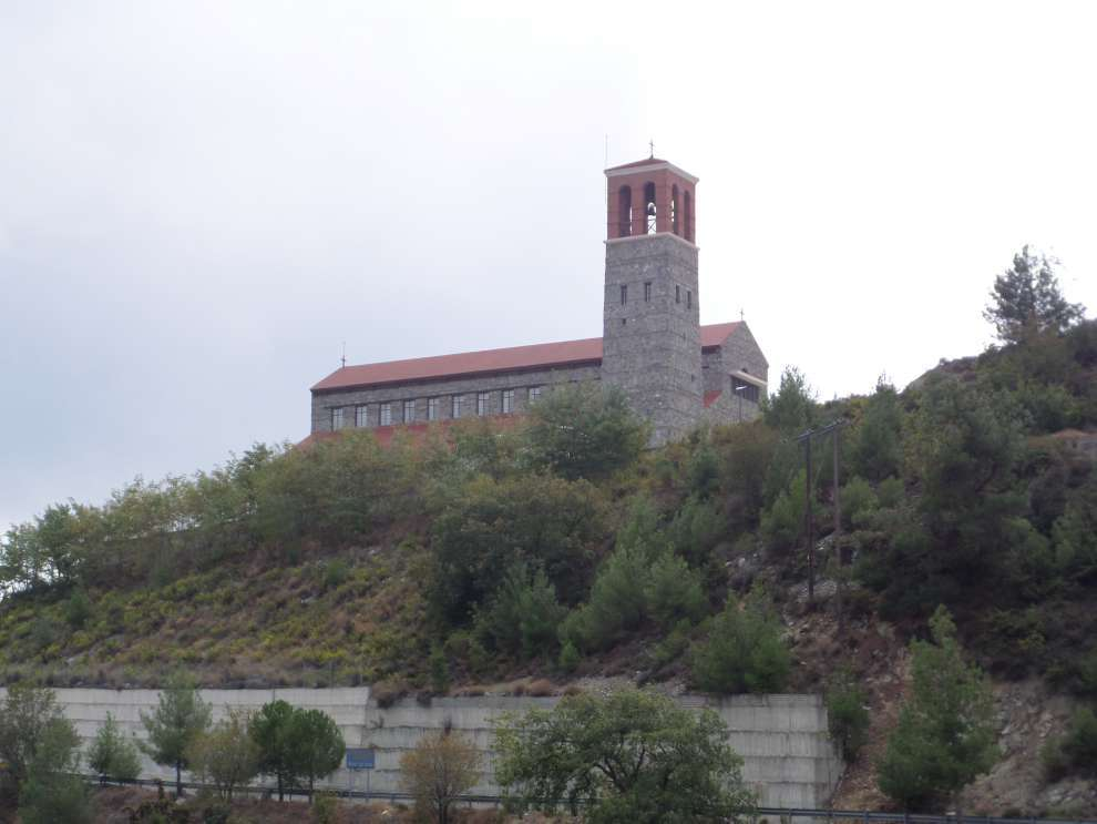 Agios (Saint) Arsenios in Kyperounta