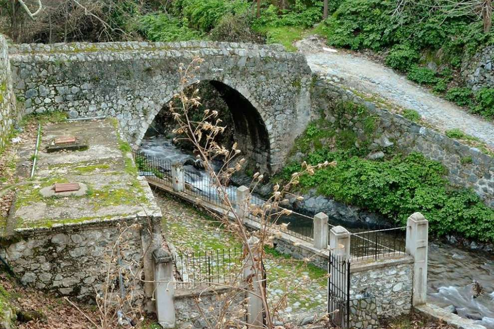 Venetian Bridge in Kalopanagiotis