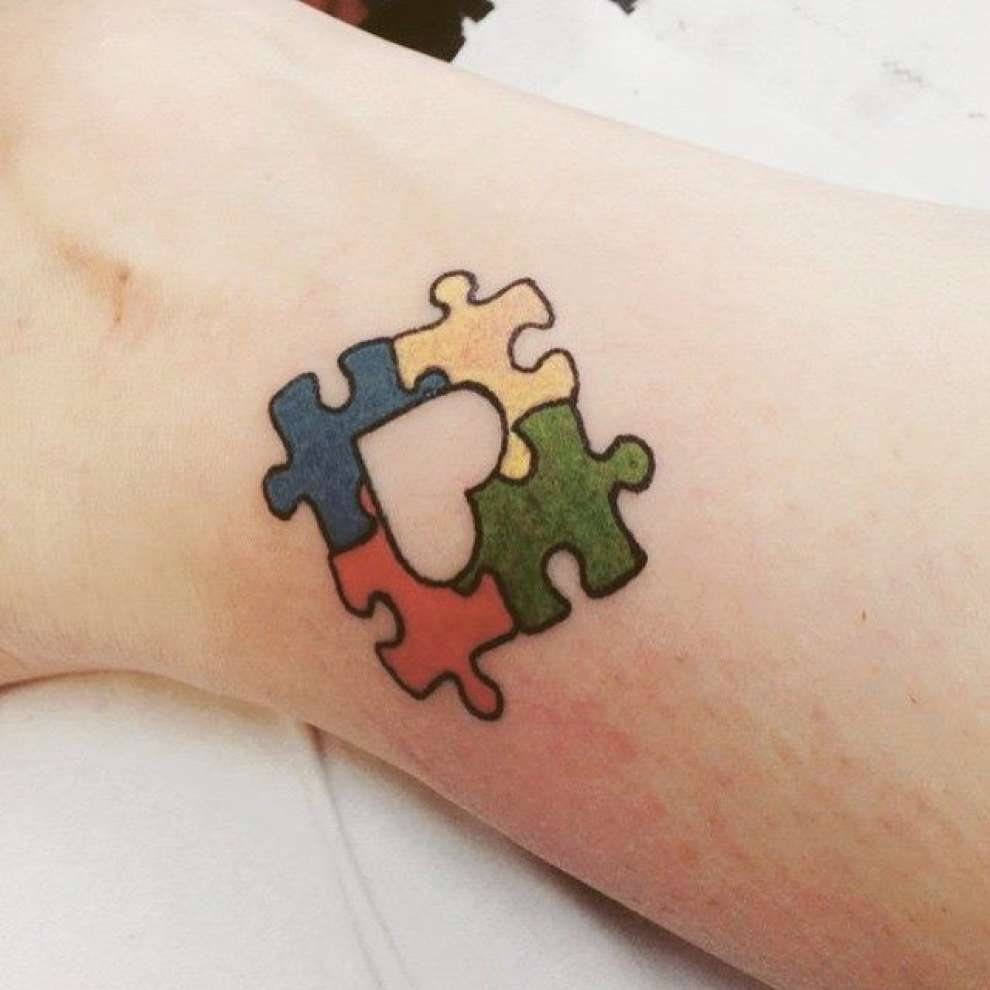 Tattoo For The Autism Help The People With Autism By Getting A