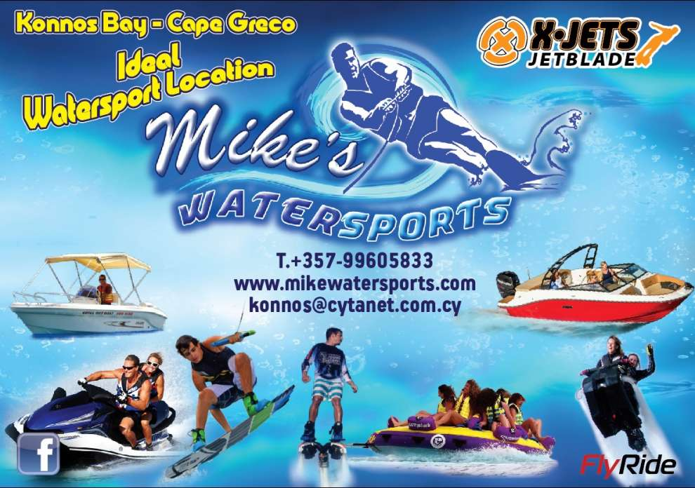 Water Sports in Cyprus