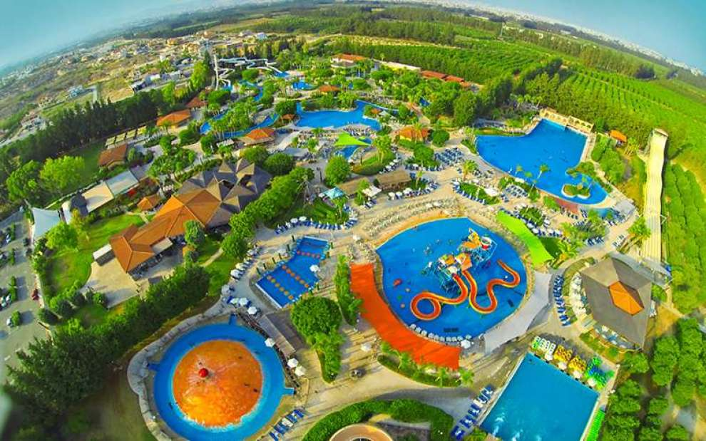 Θεματικά και θαλάσσια πάρκα - χώροι ψυχαγωγίας στην Κύπρο