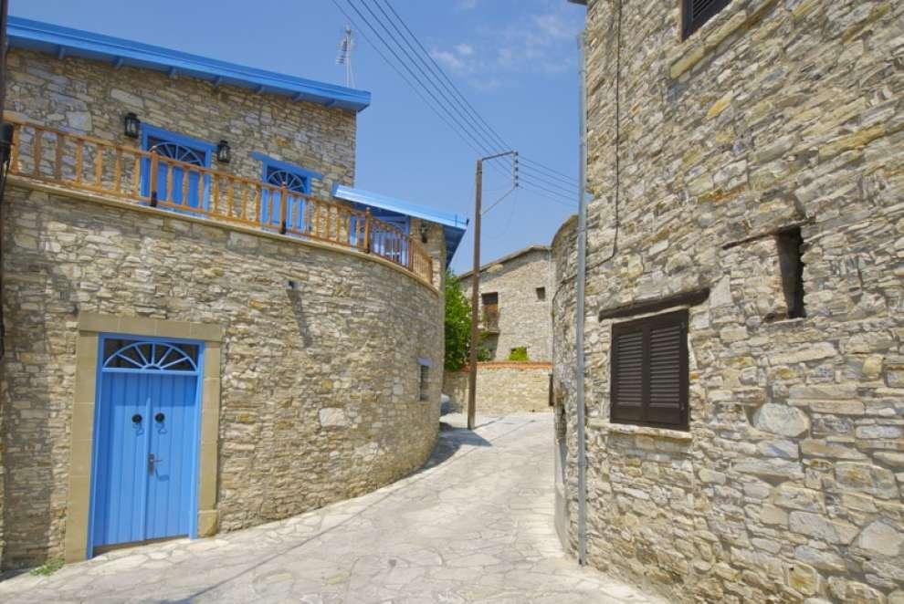 Kato drys a picturesque little village in cyprus