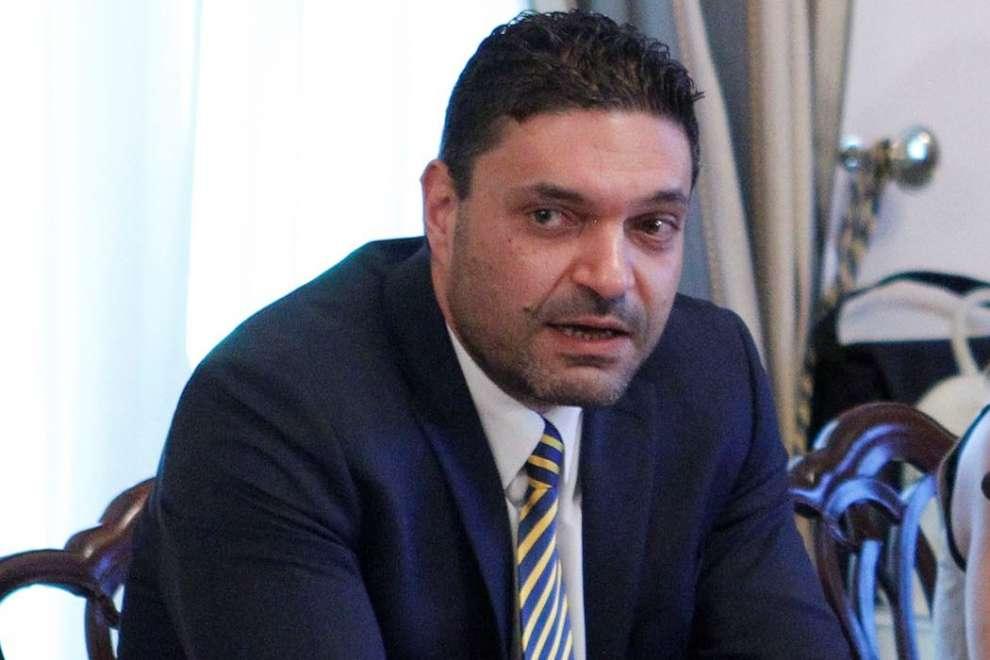 Constantinos Petrides, Minister of Interior.