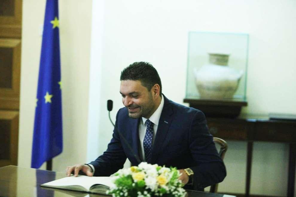 Ο υπουργός Εσωτερικών, Κωνσταντίνος Πετρίδης.
