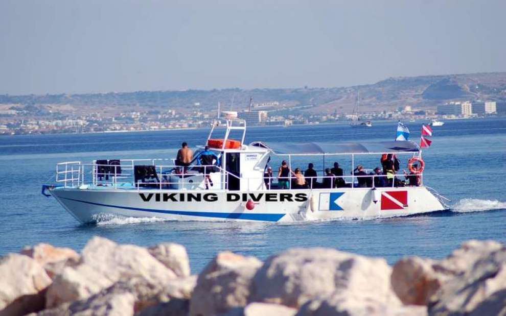Diving centres in Cyprus