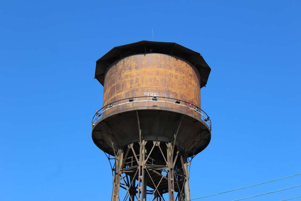 The water tower of Limassol -    a small Eiffel Tower