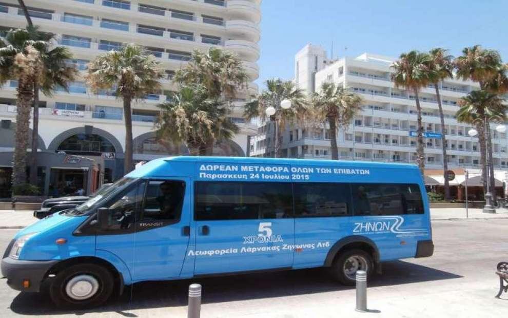 Λεωφορεία στην Κύπρο