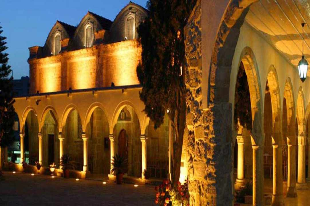 Church of Panagia Chrysopolitissa in Larnaka