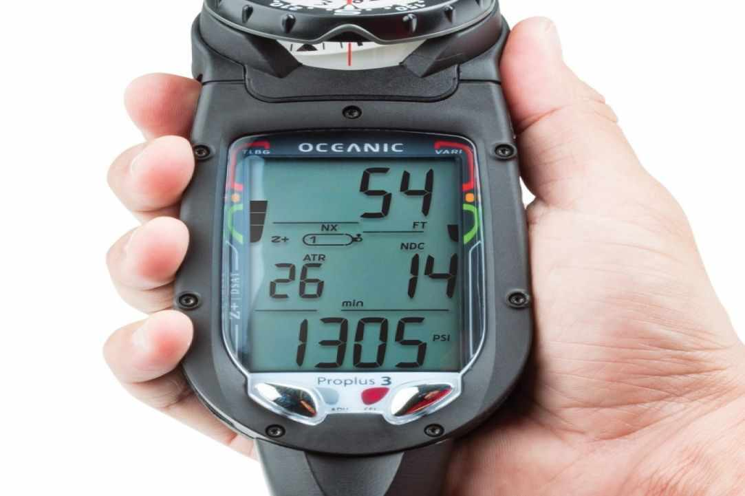 Dive computers wrist or console for Dive computer wrist