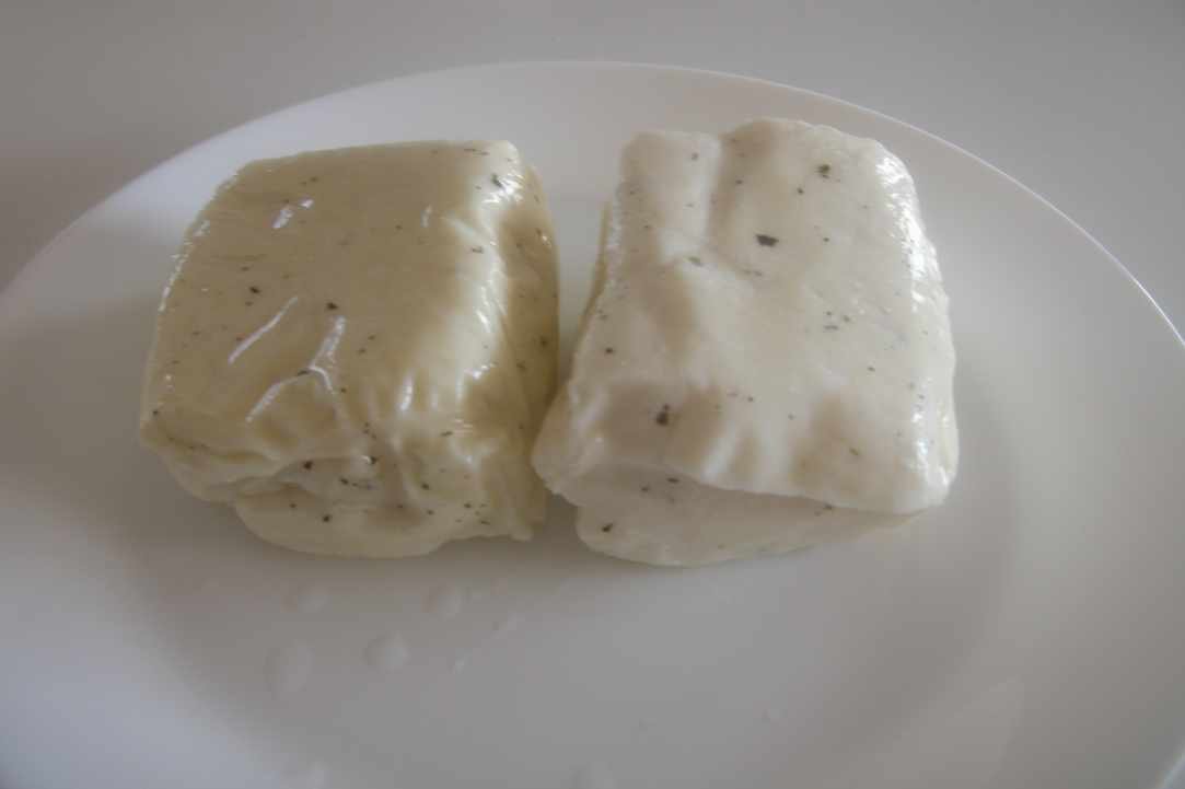 Cypriot halloumi cheese pie (in molds)