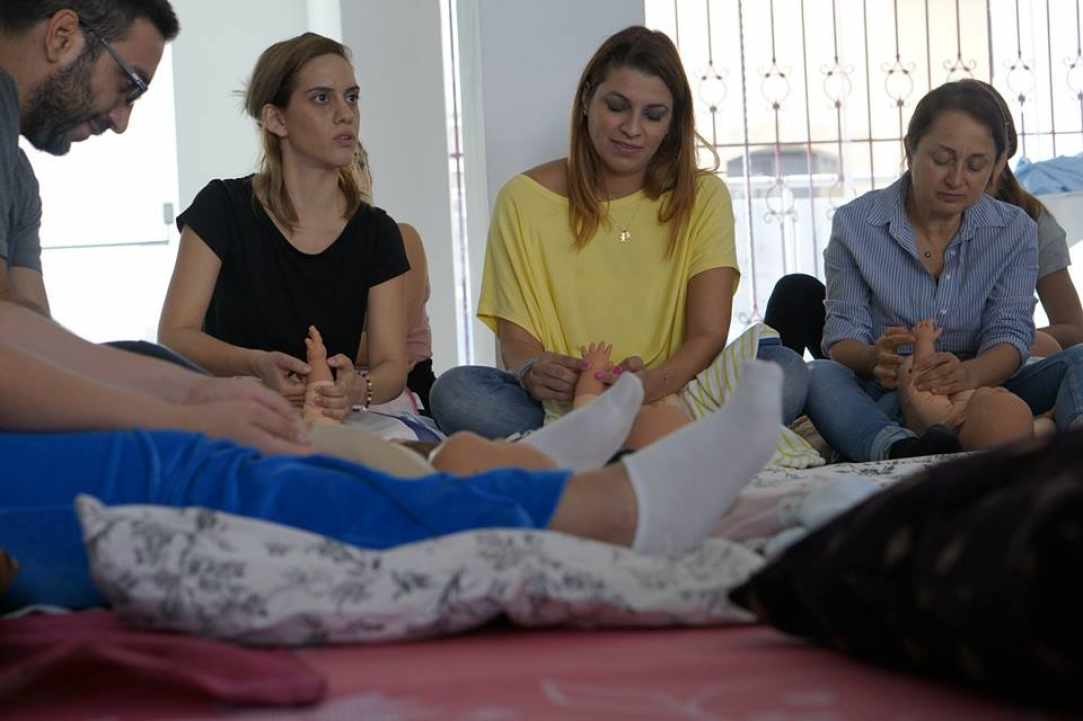 Infant Massage Training Course: 22-25 April, Nicosia