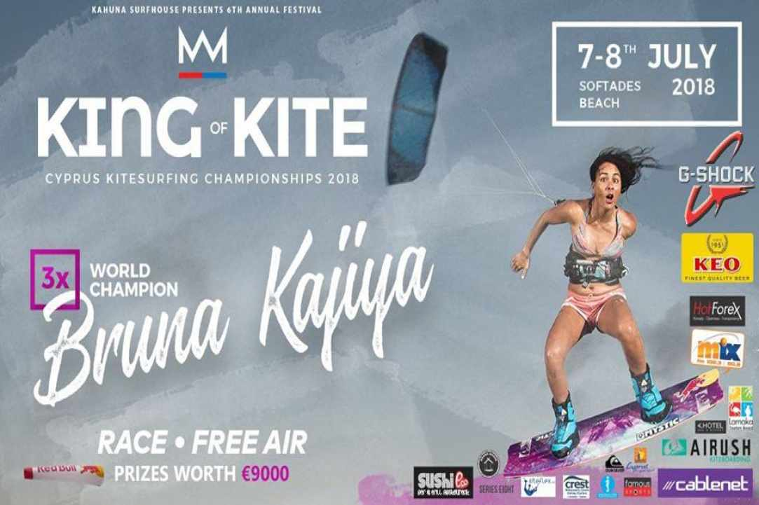 King of Kite 2018 with Bruna Kajiya