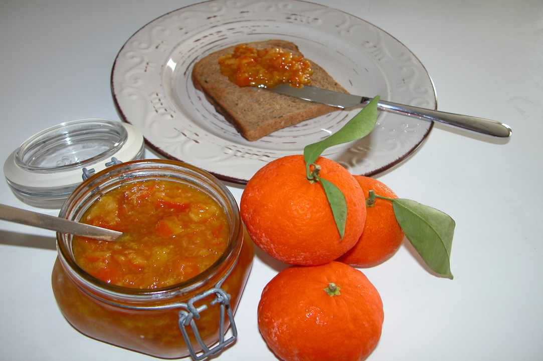 Mandarin Jam (Traditional Recipe)