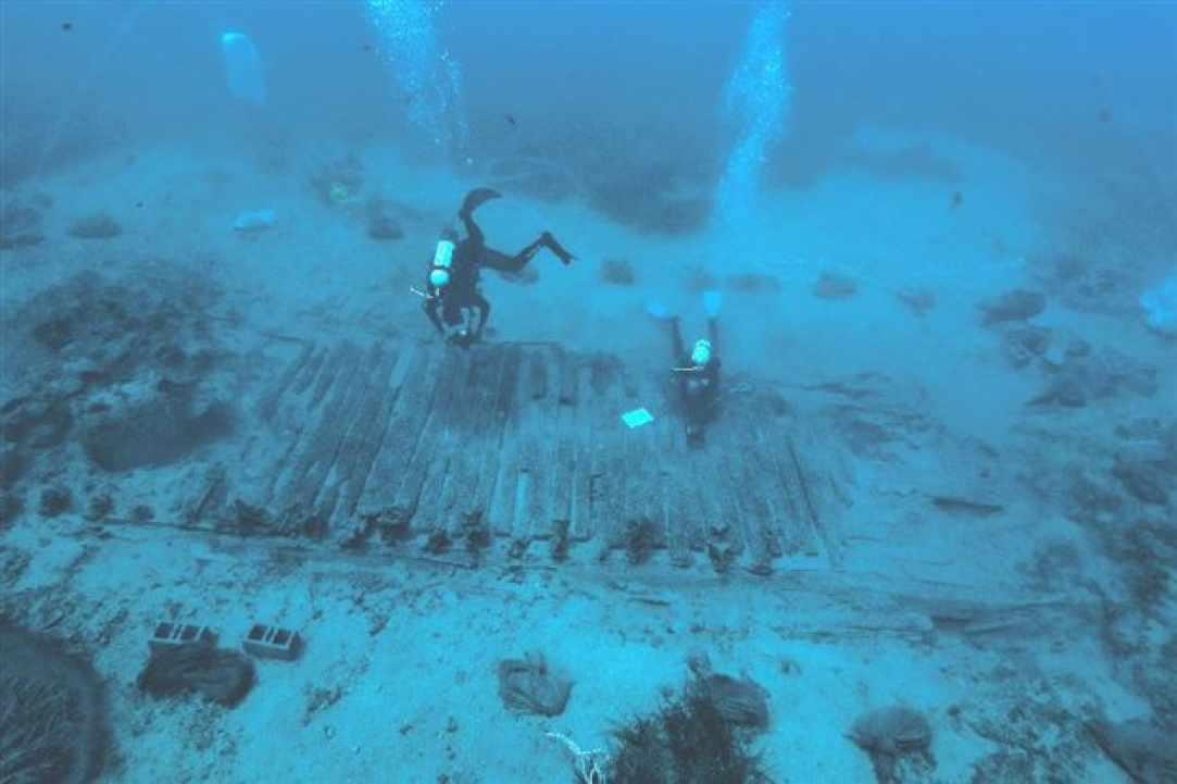 Mazotos Shipwreck