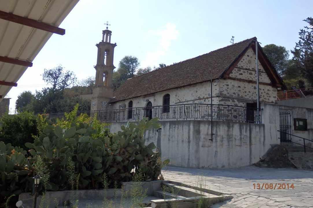 Παναγιά Ελεούσα στο χωριό Μελίνη Λάρνακας