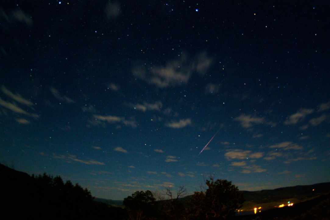 The Perseid shower.