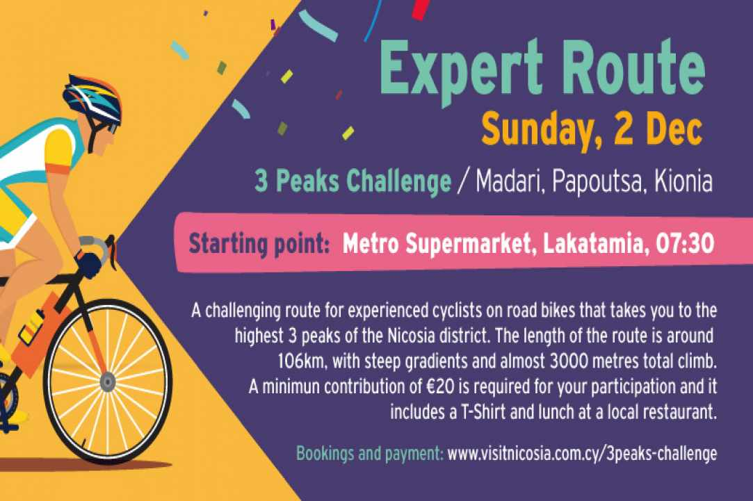Ride the Capital in two routes