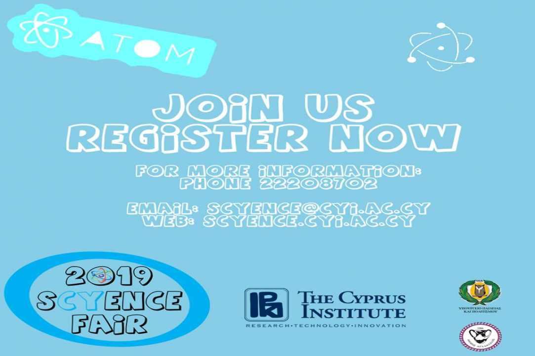 SCYENCE FAIR 2019 - The Cyprus Institute