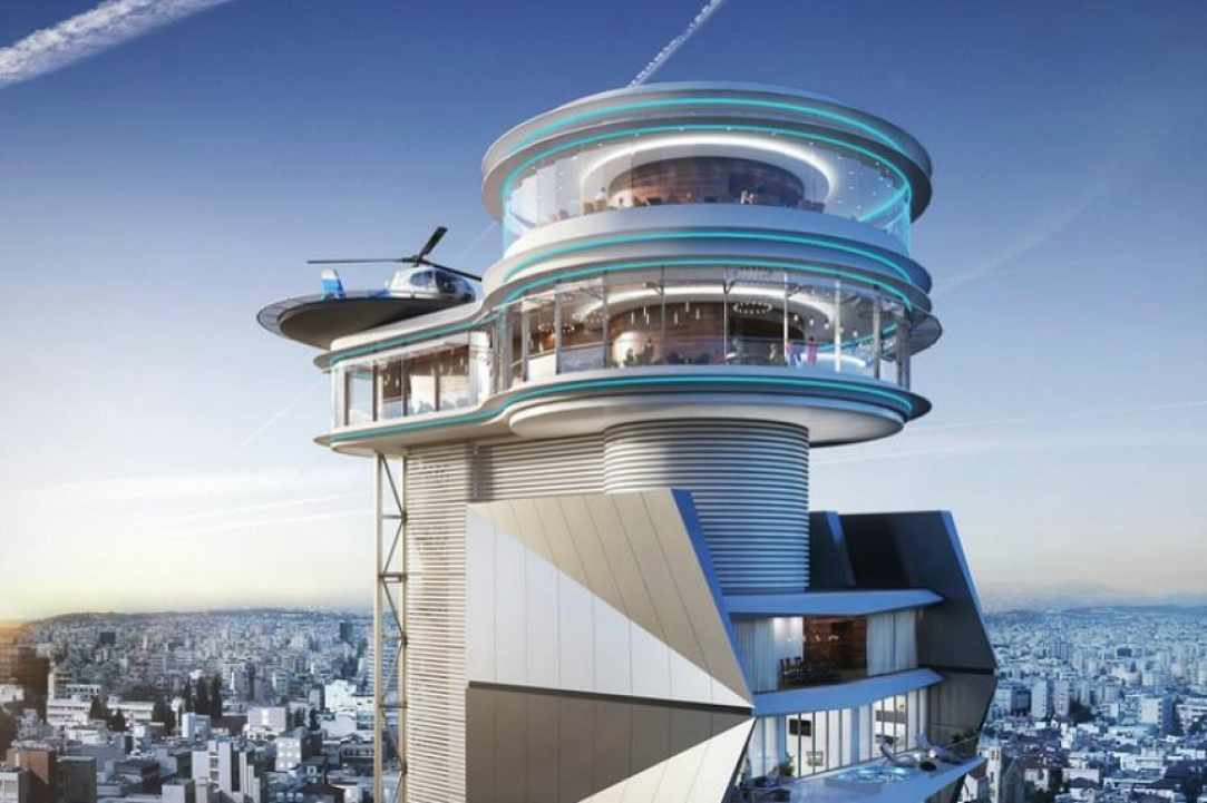 """The first """"Rotating restaurant"""" at Cyprus!"""