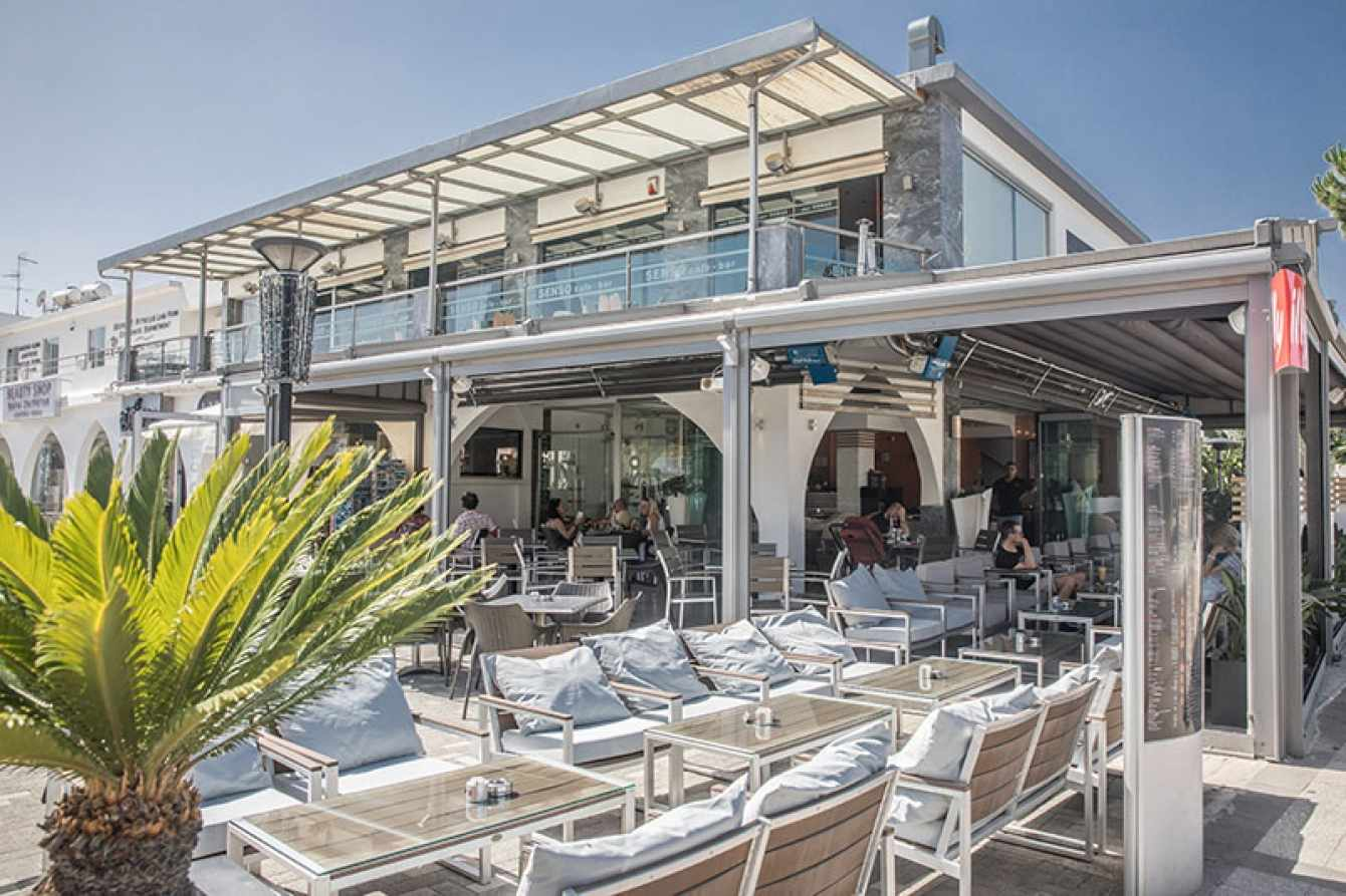 Interview with the owner of Senso Cafe in Paralimni