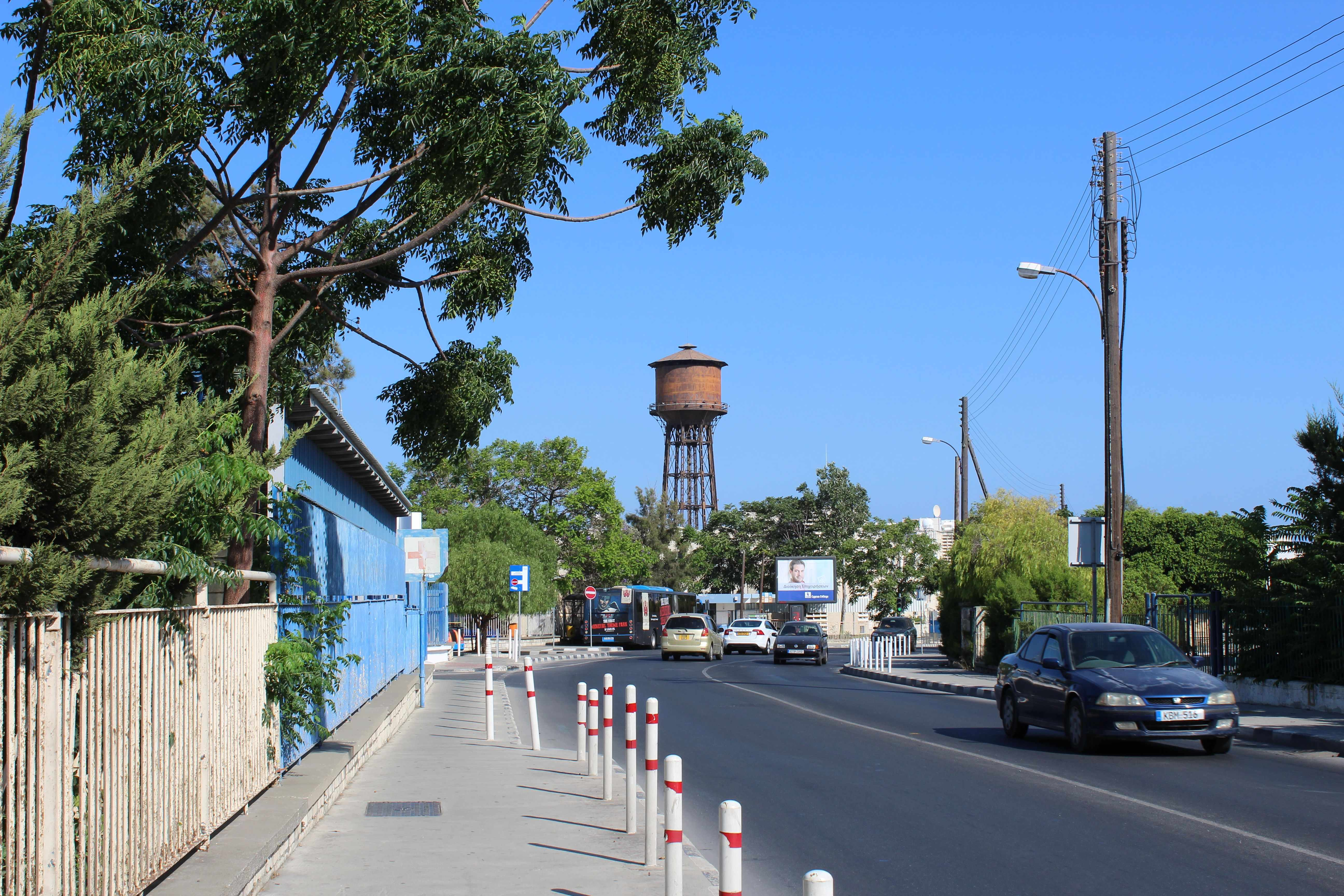 The water tower of Limassol