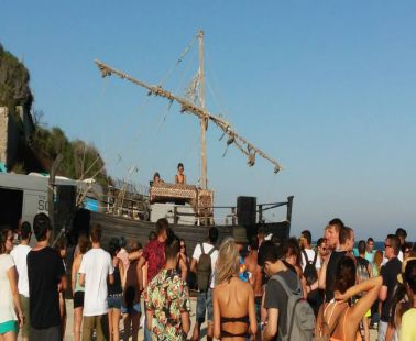Event  at Ithaki Beach