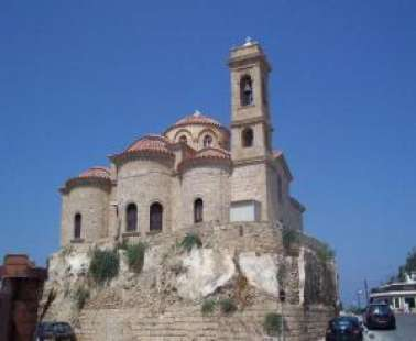 Holy Church of Panagia Theoskepasti in Pafos