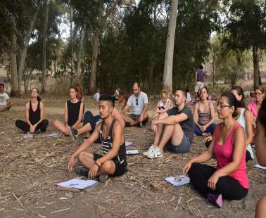 Yoga/Kung Fu and Vegetarian Picnic in the Park