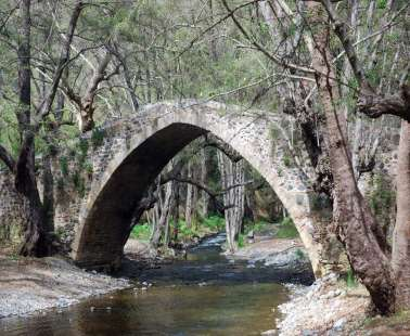 Hiking Venetian bridges of Tzilefou - Roudias-Pafos
