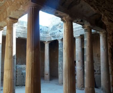 "Tombs of the Kings at Kato Pafos. A ""Must visit!"" when you are in Cyprus"