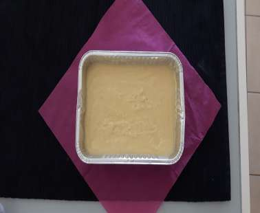 A different recipe of halva with orgeat