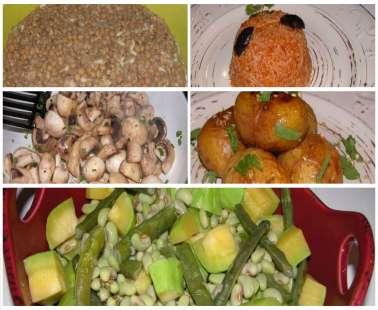 Fasting recipes for Green Monday and the fasting period.