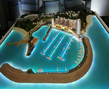 Marina Paralimni: The project (PHOTOS)