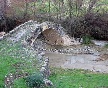 "The ""Bridge of Skarfou"", in Simou village!"