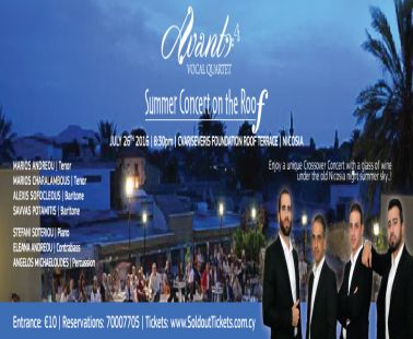 Avanti 4 - Summer Concert on the Roof