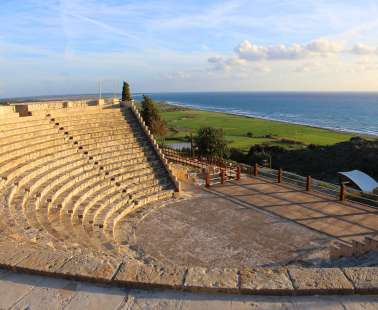 Kourion, one of the top things to do in Cyprus