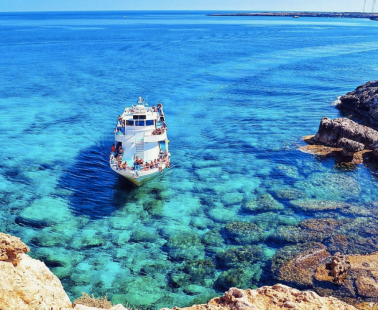 The most exotic beach in Cyprus