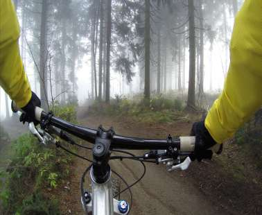 Bicycle routes in Troodos
