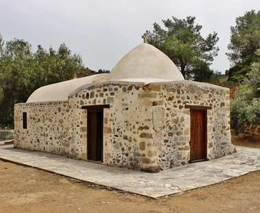 The chapel of Panagia Galoktistis