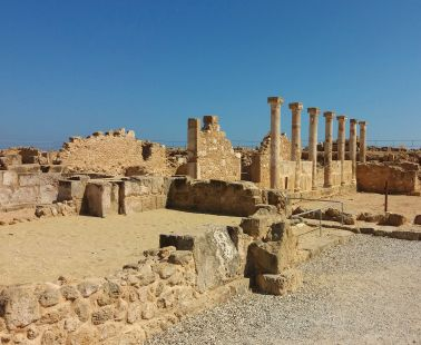 The archaeological site of Pafos