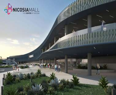 "The Nicosia Mall is opening soon and will become ""the centre of Nicosia"""