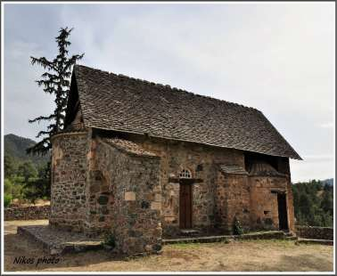 "The Church Of  Panagia Ferviotissa""or ""Panagia Of Asinou"", is located in the village of Nikitari!"