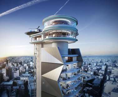 "The first ""Rotating restaurant"" at Cyprus!"