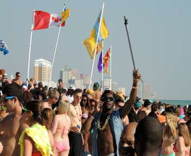 Beach party to raise awareness for HIV
