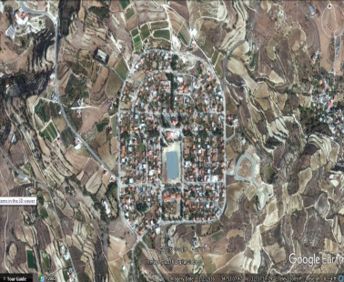 Cyprus from Google earth