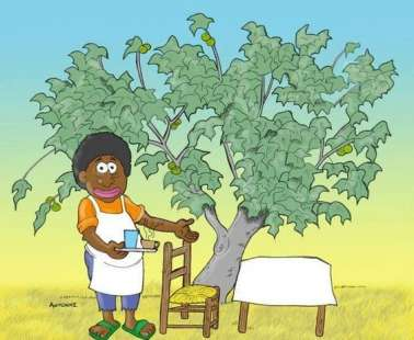 I sijia tou mavrou (the fig tree of the black guy)